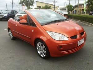 2007 Mitsubishi Colt RZ MY07 Oriental Orange 5 Speed Manual Cabriolet Southport Gold Coast City Preview