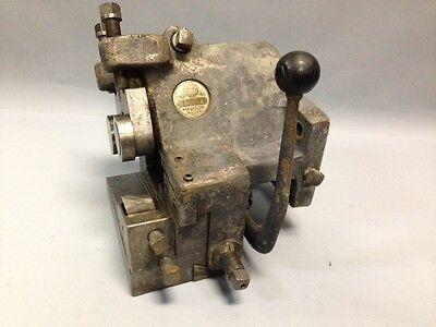 Gisholt Warner Swasey Tool 1500a Machinist Metalworking Toolholder Box Turret