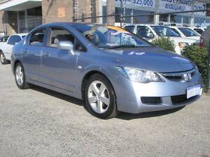 2007 Honda Civic MY07 VTi-L Blue 5 Speed Automatic Sedan Wangara Wanneroo Area Preview