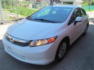 2012 Honda Civic Sdn LX FINANCEMENT MAISON $ 39 SEMAINE
