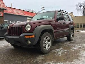 2002 Jeep Liberty Sport for Sale.