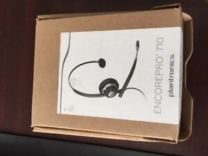 Phone Headset- for desk phone Plantronics HW710- NEW