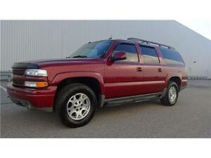 2005 CHEVROLET SUBURBAN Z71 WITH NAVIGATION EXCEP. CLEAN SOLD