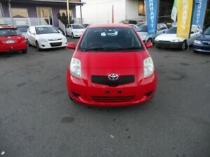 2006 Toyota Yaris NCP91R YRS Red 4 Speed Automatic Hatchback