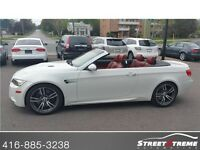 2008 BMW M3 CONVERTABLE, NAVI, MANUAL, RED LEATHER, NO ACCIDENT