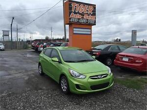 2013 Hyundai Accent***HATCHBACK***ONLY 38 KMS***GREAT ON FUEL