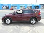 2015 Honda CR-V RM Series II MY16 VTi Maroon 5 Speed Automatic Wagon Fyshwick South Canberra Preview