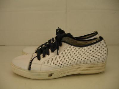 Gravity Defyer Mens 12.5 M G-Defy Ballistic Shoes Sneakers White Leather Comfort for sale  Santa Fe