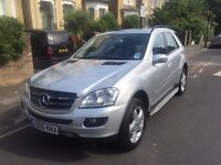 Mercedes ML320 4Matic Sport 2008 registered 85000 miles