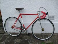 GILLOTT CLASSIC VINTAGE FIXED WHEEL ROAD RACING BIKE + See My Ads For HETCHINS BATES BUTCHERS BIKES