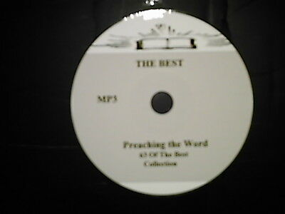 (63 OF THE BEST AUDIO SERMONS, MP3 one CD)