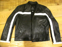 vintage leather jacket akoury