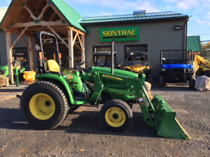 2014 JOHN DEERE 3038E - COMPACT TRACTOR WITH LOADER - WARRANTY