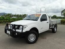 2012 Nissan Navara D40 MY12 RX (4x4) White 6 Speed Manual Dual Cab Chassis Vincent Townsville City Preview
