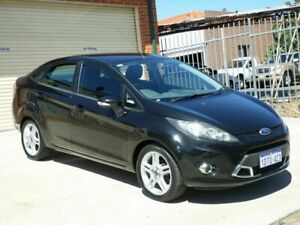 2010 Ford Fiesta WT LX PwrShift Black 6 Speed Auto Sportshift Sedan Mount Lawley Stirling Area Preview