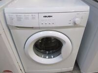 *BARGAIN*£75*BUSH+6kg +WASHING MACHINE+*CLEANED*+FREE DELIVERY+GOOD CONDITION+GOOD WORKING ORDER+*