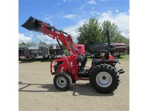 New 2016 TYM T354 - 35 HP Ranch Tractor w. ROPS & Front Loader