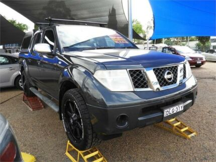 2007 Nissan Navara D40 ST-X Grey 6 Speed Manual Utility Colyton Penrith Area Preview
