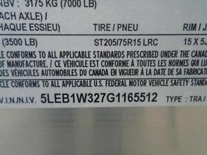 $90 MONTHLY FOR OUR 2016 ALUMINUM 14' TANDEM AXLE TRAILER London Ontario image 5