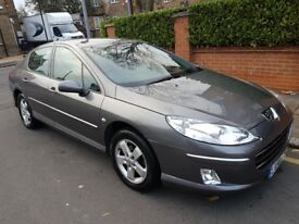 GREAT PEUGEOT 407 DIESEL 2008 AUTOMATIC ONLY 57K MILES