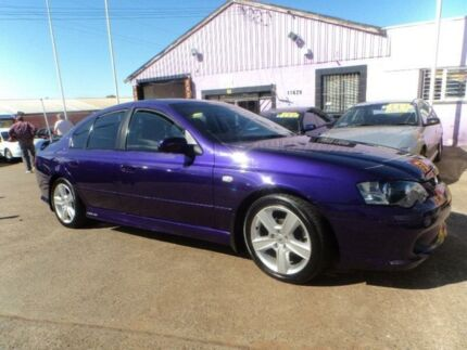 2003 Ford Falcon BA XR6 Purple 4 Speed Auto Seq Sportshift Sedan North St Marys Penrith Area Preview