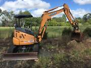2015 case excavator with powerhitch Gin Gin Bundaberg Surrounds Preview