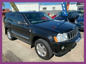 2008 Jeep Grand Cherokee WH Limited (4x4) Black 5 Speed Automatic Wagon Broadmeadow Newcastle Area Preview