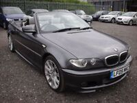 BMW 3 SERIES 2.2 320CI SPORT CONVERTIBLE E46 AUTO 168 BHP (grey) 2005