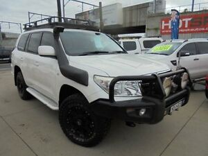 2010 Toyota Landcruiser VDJ200R MY10 60th Anniversary White Auto Sports Mode Wagon Granville Parramatta Area Preview