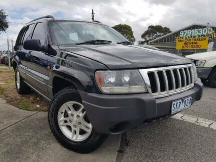2003 Jeep Grand Cherokee WG MY2003 Laredo Black 5 Speed Automatic Wagon