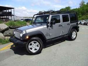 2014 Jeep WRANGLER UNLIMITED Sport (4X4, 6-SPEED MANUAL, A/C, PO