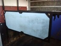 Horse dividers from a daf 45 horsebox.