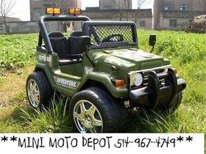 VOITURES ELECTRIQUE  **514-967-4749*MINI MOTO DEPOT