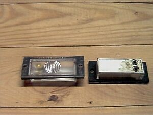 Jeep Cherokee Grand Wagoneer License Plate Lamp Light 74-83 NOS