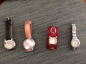 BRAND NAME LADIE'S WATCHES