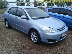 2005 Toyota Corolla ZZE122R 5Y Ascent Sport Blue 4 Speed Automatic Hatchback Holtze Litchfield Area Preview