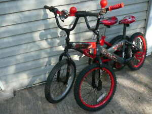2 boys bicycles for sale