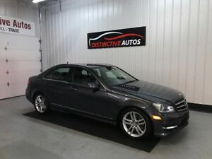 2014 Mercedes-Benz C-Class C300 4MATIC/LEATHER/SUNROOF/MUST SEE
