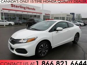 2015 Honda Civic EX | COUPE | LOW KM'S | 1 OWNER!!