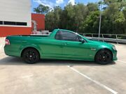 2010 Holden Commodore VE II SV6 Green 6 Speed Manual Utility Morayfield Caboolture Area Preview
