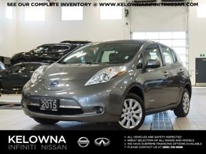 2015 Nissan Leaf S Electric w/Quick Charge Package