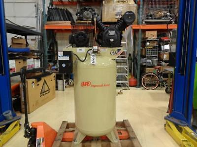 1 New Ingersoll Rand 200v 80 Gallon 3-phase Air Compressor 2475n7.5-v Bs