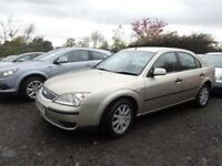 2005(55reg) Ford Mondeo 2.0 TDCI MOT'd MAY 18 £650 TO CLEAR