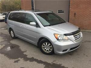 Honda Odyssey EX-L 2010 CUIR/MAGS/TOIT/8 PASSAGERS!
