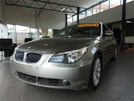 2007 BMW 525i E60 Steptronic Gold 6 Speed Sports Automatic Sedan Moorooka Brisbane South West Preview