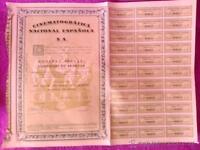 Cinematografica Nacional Española S.a. 1928 -  - ebay.es