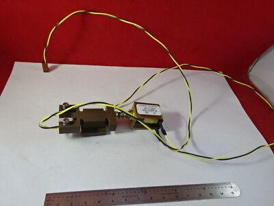 Optical Filter Solenoid Actuator Laser Optics As Pictured 95-70