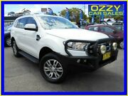 2015 Ford Everest UA Trend White 6 Speed Automatic Wagon Penrith Penrith Area Preview