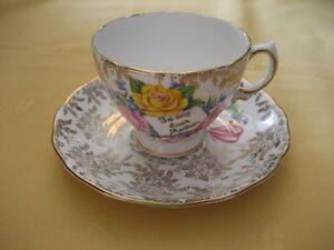 Vintage Colclough Mother's Day Cup & Saucer