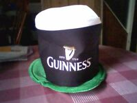 GUINNESS /ST. PATRICK'S NOVELTY HAT - NEW/UNUSED